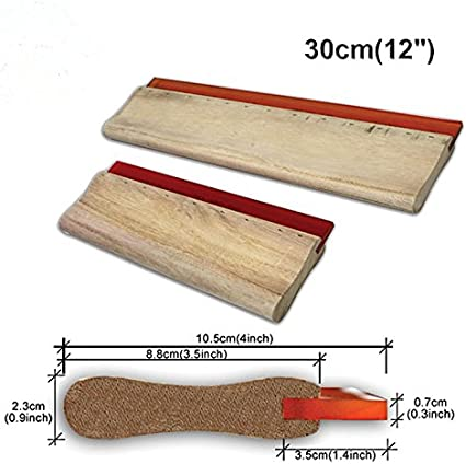 70 Durometer Stellar 14 Inch Squeegee for Screen Printing