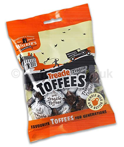 Walker's Nonsuch Treacle Toffee Bags 150g