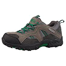 Mountain Warehouse Stampede Kids Waterproof Walking Shoes - Waterproof, High Traction Sole, Suede & Mesh Upper with Padded Tongue & Ankle
