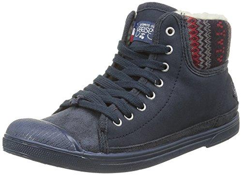 Sneaker Cerises Snow Le 03 Damen Temps des Basic Blau UxqnB1x