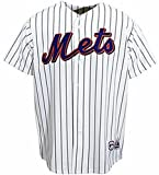 VF York Mets MLB Home White Majestic Replica Jersey Men's Big & Tall Sizes (4XT)