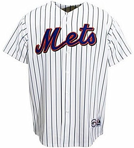 VF New York Mets MLB Home White Majestic Replica Jersey Men's Big & Tall Sizes (4XT)
