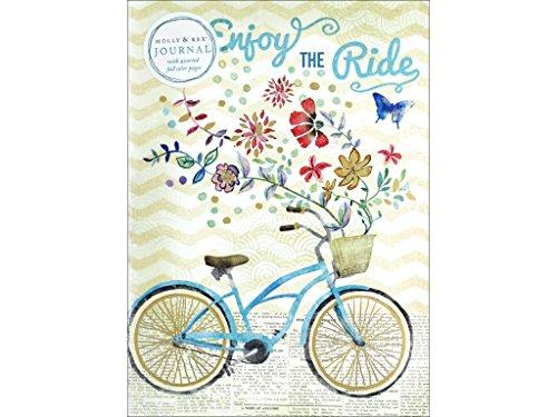 Molly & Rex Soft Cover Journal Bike Ride Bouquet