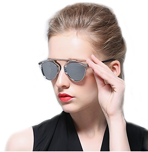 Unicra 2017 Fashion Women's Sunglasses - Lenses Difference Glass Plastic Between And
