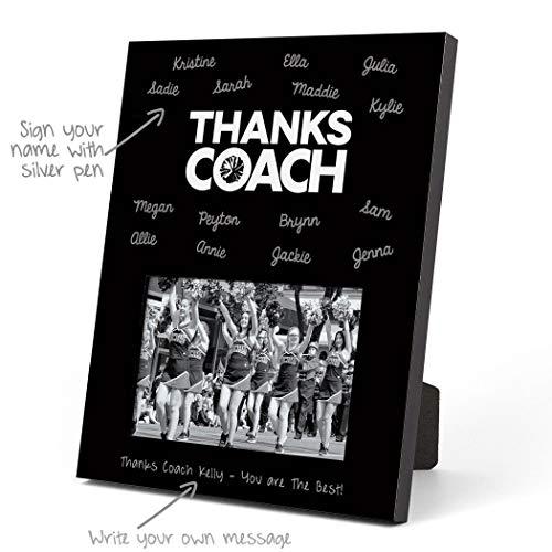 ChalkTalkSPORTS Cheerleading Photo Frame   Coach (Autograph) Picture Frame   Black