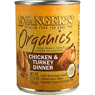 Evanger's Organics Dinner for Dogs