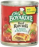 Chef Boyardee Beef Ravioli, 7oz (Pack of 24)