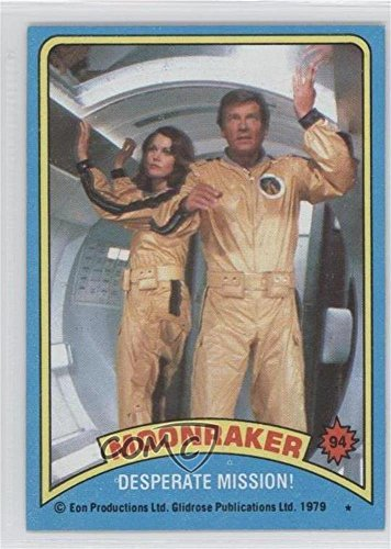 Desperate Mission! (Trading Card) 1979 Topps James Bond: Moonraker - [Base] #94