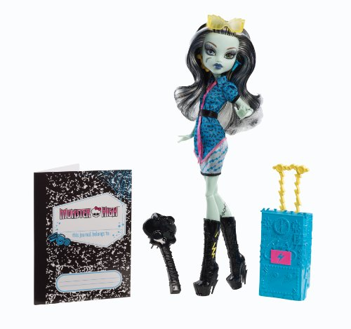 Skelita Calaveras Monster High Doll Costume (Monster High Travel Scaris Frankie Stein Doll)