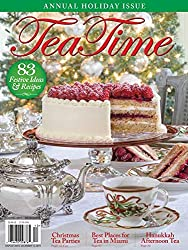 TeaTime is America's #1 magazine for tea enthusiasts. The magazine shares inspirational tea-party menus, recipes, and table-setting ideas, tea focused destinations and events, tea traditions and much more. Every issue of TeaTime magazine includes tea...