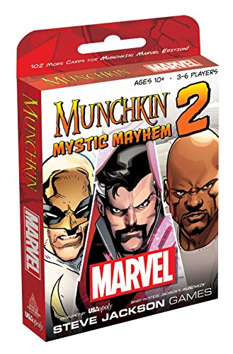 Marvel #2: Mystic Mayhem Munchkin Card Game
