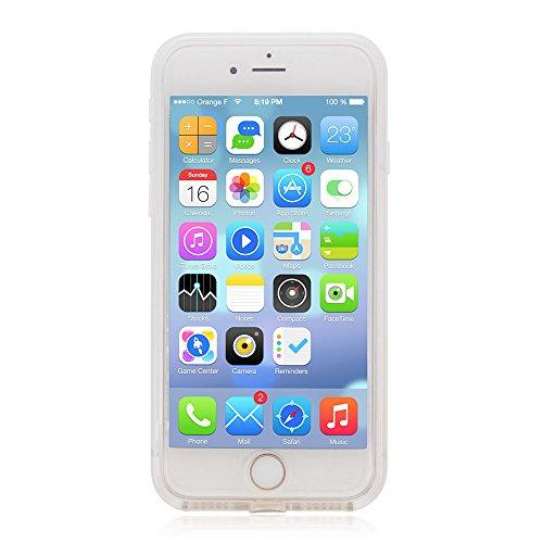 iPhone 7 /iPhone 8 Waterproof case, Fusutonus [Waterproof Shockproof Snowproof] Underwater Cover Full Body Protective Compatible iPhone 7 /iPhone 8 - White
