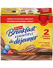 Carnation Breakfast Essentials Chocolate Nutritional Drink, 6 X 237ml Bottles (Pack of 4), 24 Count, 24-Pack