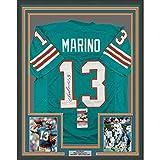 Framed Autographed/Signed Dan Marino 33x42 Miami
