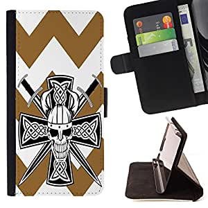 King Case - FOR Samsung Galaxy Core Prime - Held your hand - Prima caja de la PU billetera de cuero con ranuras para tarjetas, efectivo Compartimiento desmontable y correa para la mu?eca