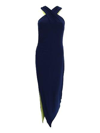 ec9c69db3f5 Lauren Ralph Lauren Womens Marbelle Criss-Cross Front Maxi Formal Dress at Amazon  Women's Clothing store: