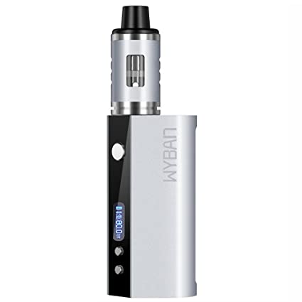 WYBAN Cigarrillo Electrónico 80W LCD Función de Relleno a Tope Atomizer 2ML/0.3ohm,