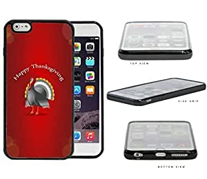Happy Thanksgiving Turkey With Red Background Case Cover For SamSung Galaxy S3 SCREEN Hard Silicone PC Cell Phone Case