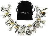 Broadway Musical Hamilton Jewelry Merchandise Charm Bracelet Rise Up Friendship Gifts - American Lin-Manuel Miranda Chain Bangle Kids Boys Girls Costumes