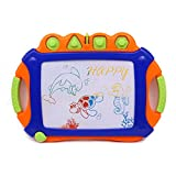 Wishtime Magnetic Color Drawing Board Sketch Pad Writing Craft Art Child Gift Toy (Color May Vary)