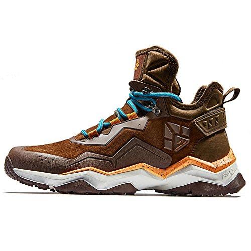 RAX Mens Mid Multifunctional V-tex Waterproof Hiking Boots Outdoor Shoes