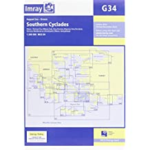 Imray Chart G34: Southern Cyclades