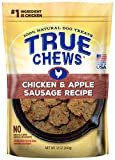 chicken apple dog treats - True Chews Chicken and Apple Sausage Recipe 12oz, Pack of 1