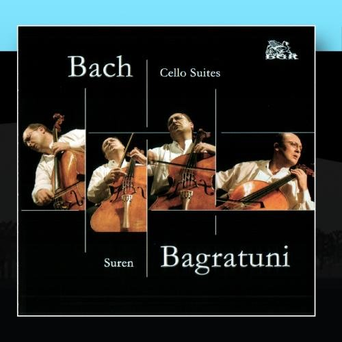Bach: Cello Suites (2 CDs) by Blue Griffin Recording
