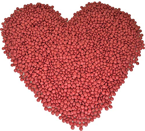 Mother's Day, Hershey-ets Hersheyettes Red Candy Coated Milk Chocolate, 5 Pound -