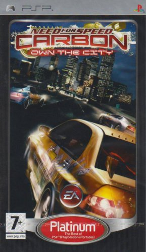 Amazon Com Need For Speed Carbon Own The City Platinum Psp
