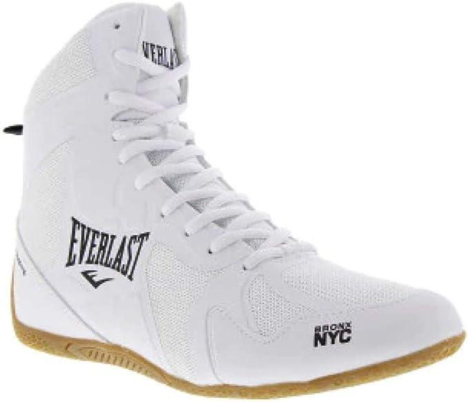 Everlast, Ultimate - Calzado de Boxeo para Hombre, Color Blanco y Negro, Blanco, 46 (12): Amazon.es: Deportes y aire libre