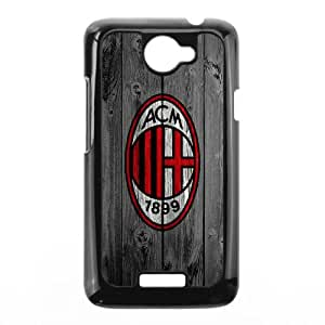 HTC One X Cell Phone Case Black custom Wood AC Milan BNY_6700170
