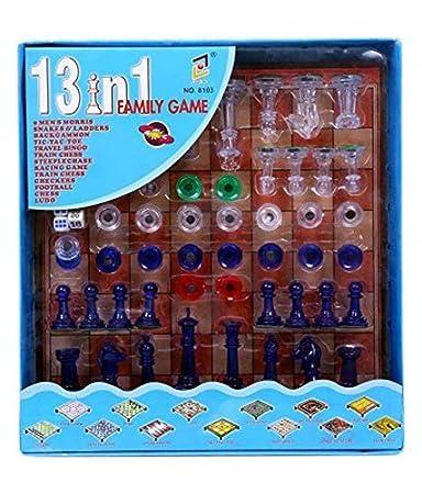 Buy PlutofitTM 13 In 1 Family Game Including Chess