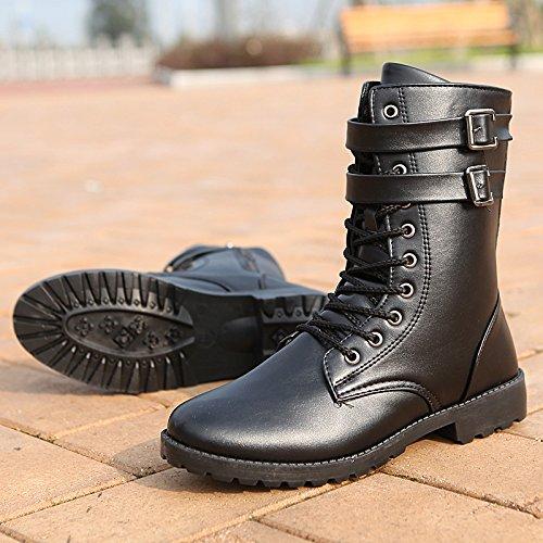men's nbsp;Spring Martin shoes nbsp; and boots GUNAINDMX tall Black 226 tube casual Autumn xanIqw6