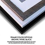 Girls Monogram Framed Print | Choose Your Color