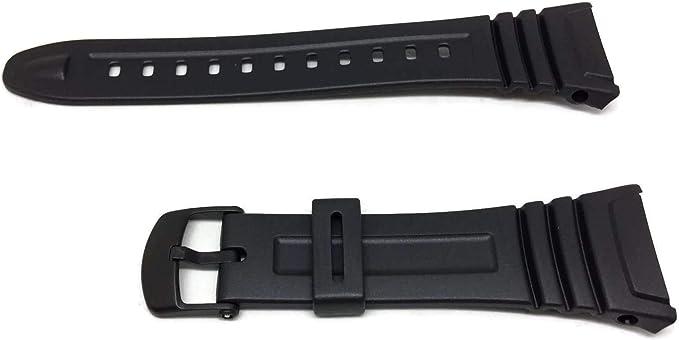 Casio 10076822, Montre ceinture, résine , Noir:  jihFS