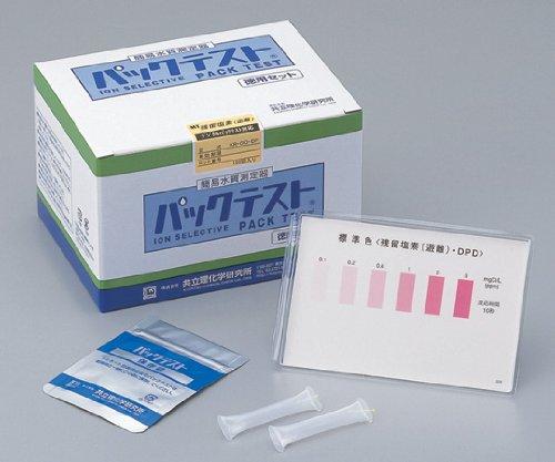 共立理化学研究所1-9595-16パックテスト(R)亜鉛KR-Zn徳用セット B07BD2RDS4
