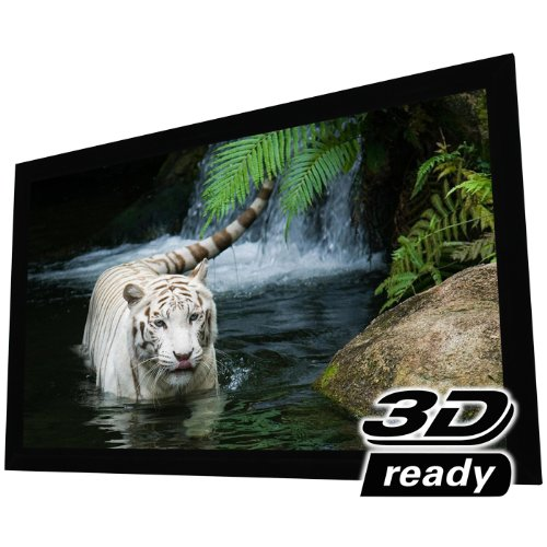 EluneVision Reference Studio 4K Fixed Frame Projection Screen - 108