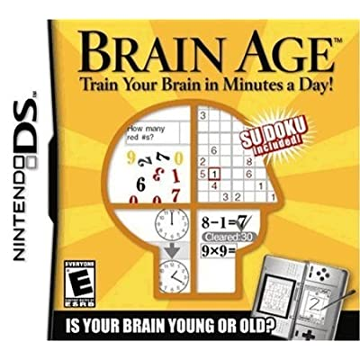 5Star-TD Brain Age: Train Your Brain in Minutes a Day!: Toys & Games