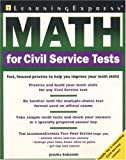 Math for Civil Service Tests, Jessika Sobanski and LearningExpress Staff, 1576854280