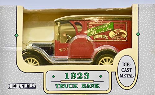1992 - Anheuser-Busch Inc/Budweiser - 1923 Truck Bank - 1:25 Scale Die Cast Metal - Adult Collectible - Sealed