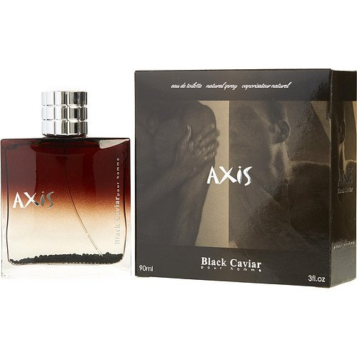 AXIS BLACK CAVIAR by SOS Creations EDT SPRAY 3 OZ for MEN ---(Package Of 5)