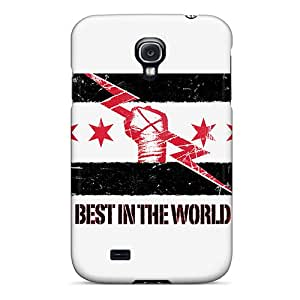 JonBradica Samsung Galaxy S4 Bumper Hard Phone Cover Support Personal Customs Lifelike Cm Punk Image [TfV15192eOQH]