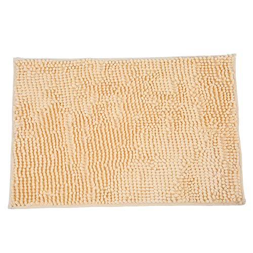 Dingq 4060cm Super Soft Chenille Yarn Footcloth Highly Absorbent Carpet Non-Skid Door Mat Ground Mat Floor Mat for Indoor Entranceway