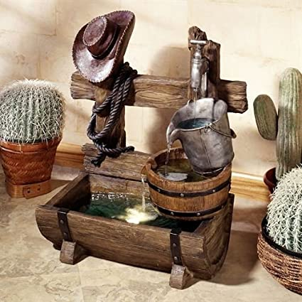 Touch Of Class Ranch Living Water Fountain Multi Earth