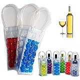 Gel Wine Bottle Chill Cooler Ice Bag - Freezer Bag- Vodka- Tequila Chiller- Cooler- Carrier