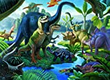 Ravensburger Land of The Giants - 100 Piece Jigsaw Puzzle for Kids - Every Piece is Unique, Pieces Fit Together Perfectly