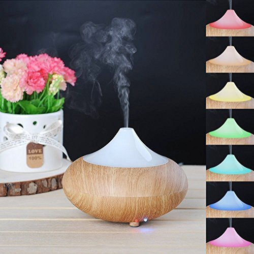 iHomeSet Essential Oil Diffuser - Electric Aromatherapy Ultrasonic Cool Mist Air Humidifier