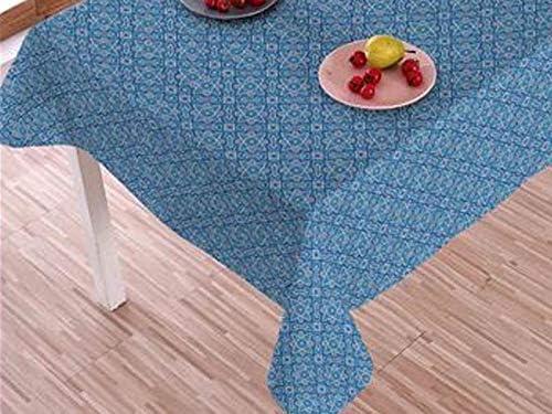 Wachstuch Tischdecke abwaschbar Gartentischdecke Meterware Schmetterlinge Blau