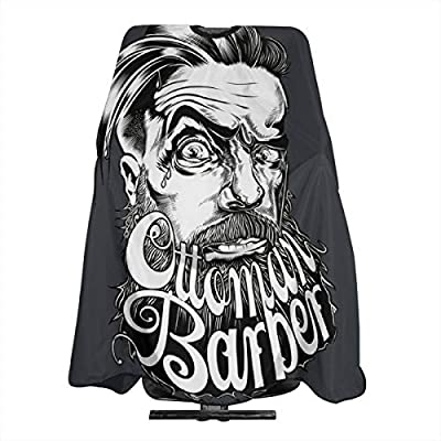 Mens Hairstyles Barber Cool Black Hairdresser Hair Stylist Haircut Cover Salon Barbering Cape Shop Accessories Styling Cutting Kit Professional Cloth Women Men Adult Buy Online At Best Price In Uae Amazon Ae
